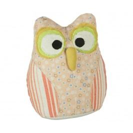 Zarážka do dveří Owl Pink Stripes
