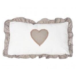 Dekorační polštář Love Story 30x50 cm