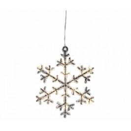 Závěsná světelná dekorace Snowflakes S