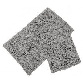 Sada 2 koupelnových předložek Drop Grey