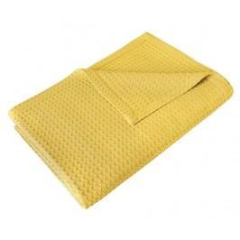 Přehoz Plane Yellow 230x240 cm
