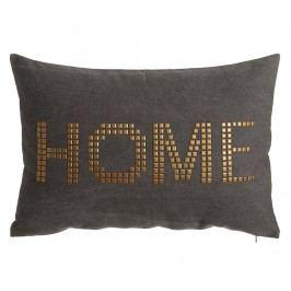 Dekorační polštář Home Grey 40x60 cm