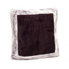 Dekorační polštář Square Purple 40x40 cm