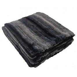 Pléd Noli Black 125x150 cm
