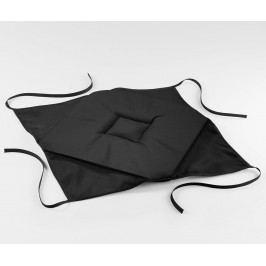 Polštář na sezení Essentiel Black 36x36 cm