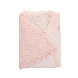 Dámský župan Angeline Light Pink M/L