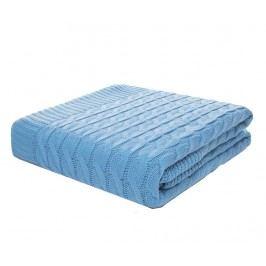 Pléd Braid Blue 130x170 cm