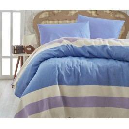 Přehoz Pique Brigitte Blue Lilac 200x235 cm