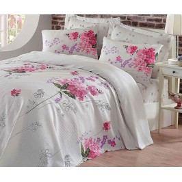 Přehoz Pique Hyacinth Pink 200x235 cm