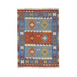 Koberec Kilim Macario Blue 170x230 cm
