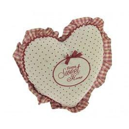 Dekorační polštář Home Sweet Home Heart 38x38 cm