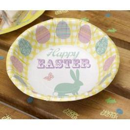Sada 8 jednorázových mís Happy Easter