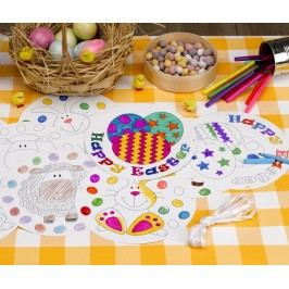 Girlanda Easter Craft Colour