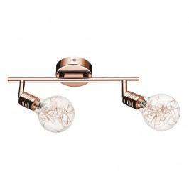 Svítidlo Bulbs Double Copper  Transparent