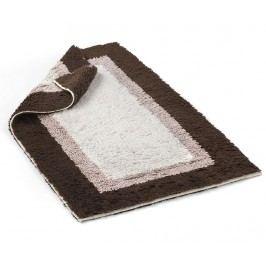 Předložka do koupelny Soho Chocolate Quartz Ivory 55x90 cm