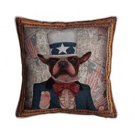 Dekorační polštář American Dog 45x45 cm