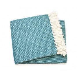 Pléd Skyline Ocean Blue 140x180 cm