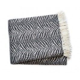 Pléd Tiger Dark Grey 140x180 cm