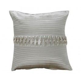 Dekorační polštář Pleated Pearl 35x35 cm