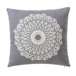 Dekorační polštář Love Trends Grey 45x45 cm