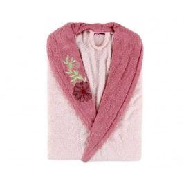Dámský župan Daily Pink Flower S/M