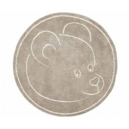 Koberec Teddy Bear Beige 100x100 cm