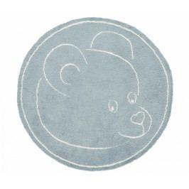 Koberec Teddy Bear Blue 100x100 cm
