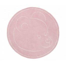 Koberec Teddy Bear Pink 100x100 cm