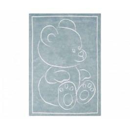 Koberec Teddy Bear Blue 100x150 cm Dětské kusové koberce