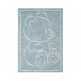 Koberec Teddy Bear Blue 120x170 cm