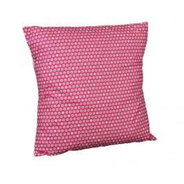 Dekorační polštář Flowers Pink 40x40 cm