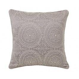 Dekorační polštář Cozy Silver 45x45 cm