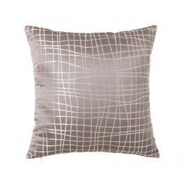 Dekorační polštář Netting Old Taupe 45x45 cm