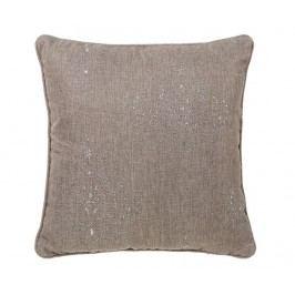 Dekorační polštář Precious Brown 45x45 cm