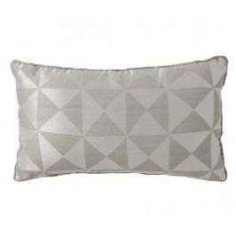 Dekorační polštář Bretage Grey Silver 30x50 cm