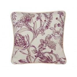 Dekorační polštář Flowers Essence Beetroot 45x45 cm