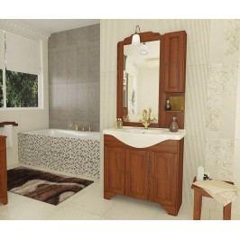 Čtyřdílná sada nábytku do koupelny Stefania