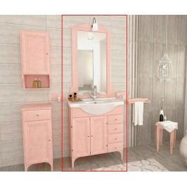 Třídílná sada nábytku do koupelny Fiorenza Pink