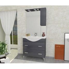 Třídílná sada nábytku do koupelny Smart Large