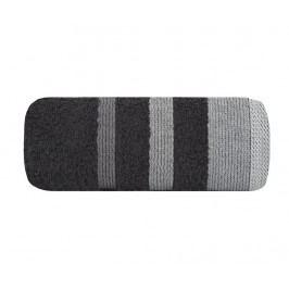 Ručník Metrop Black Grey 70x140 cm