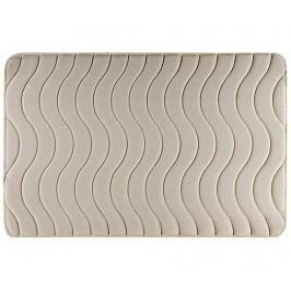 Koupelnová předložka Wave Beige 60x90 cm