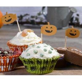 Sada 20 štítků na dezert Pumpkin Smile