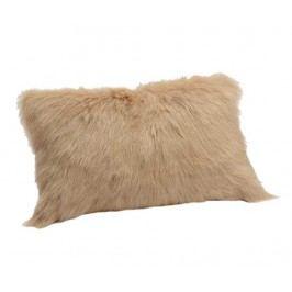 Dekorační polštář Chevre Ivory 30x50 cm