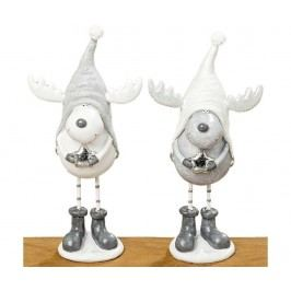 Sada 2 dekorací Egon Elk