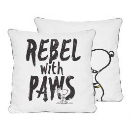 Dekorační polštář Rebel with Paws 45x45 cm