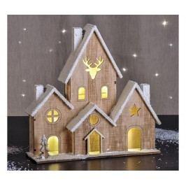 Světelná dekorace House Snow
