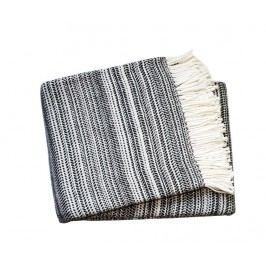 Pléd Toscana Dark Grey 140x180 cm