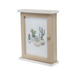 Skříňka na klíče Cactus Garden