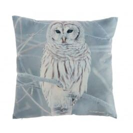 Dekorační polštář Fan Owl 45x45 cm