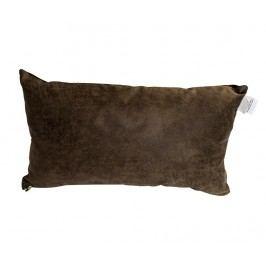 Dekorační polštář Cusho Vintage Choco 25x45 cm